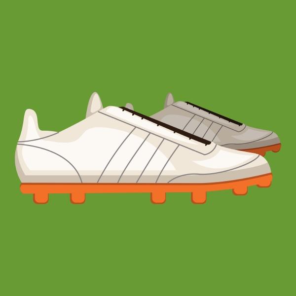 gym, shoe, vector, color, illustration, - 27487060