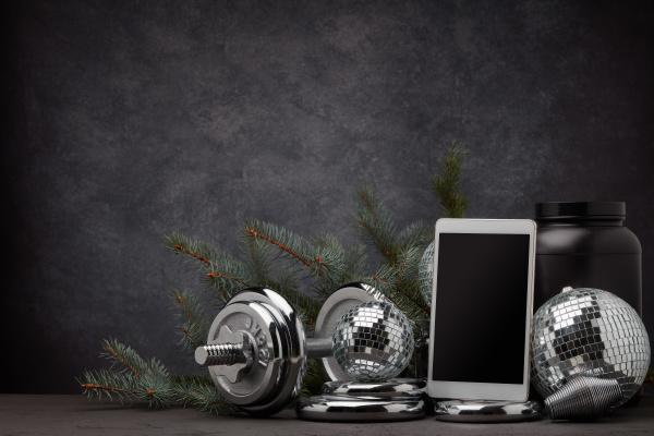weihnachts und neujahrsfitness