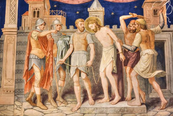 interior, fresco, , st, george, church, mirauti, - 27542148