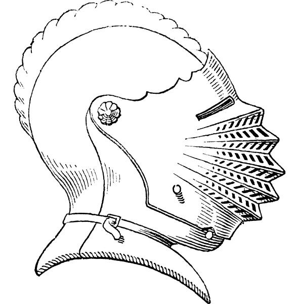 fuenfzehnten jahrhundert helm oder galea vintage