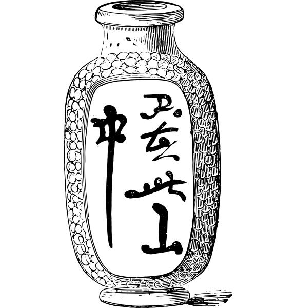 chinesische vase in aegyptischen grab gefunden