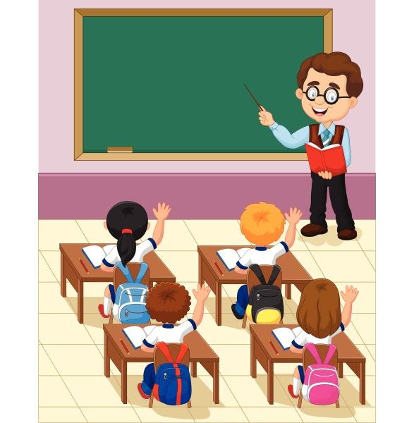 cartoon kleine kind eine studie im