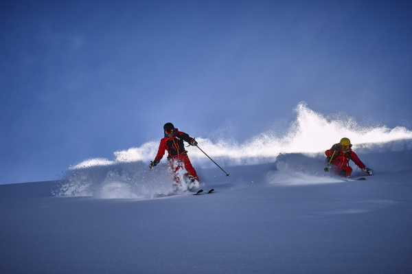 skifahrer skifahren