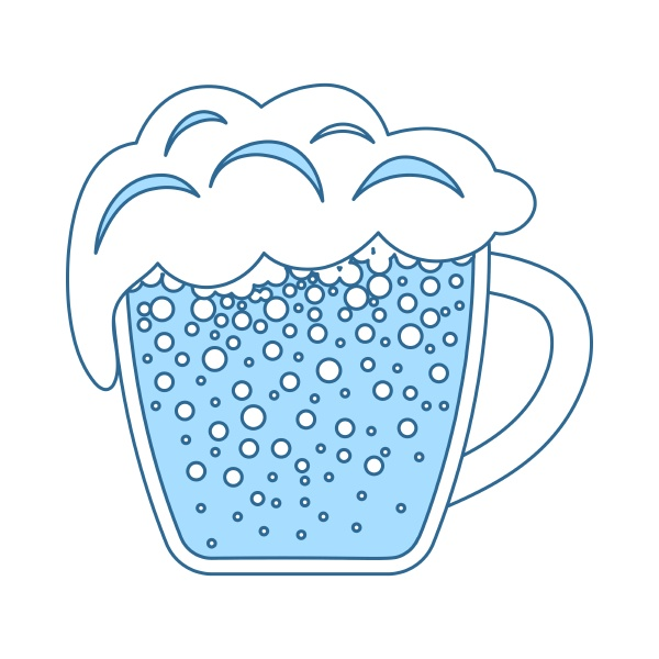 becher bier ikone