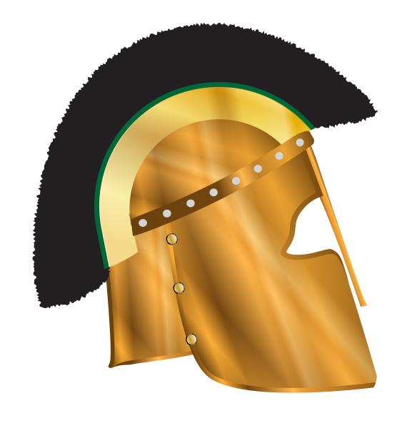 roemischer gladiatorhelm