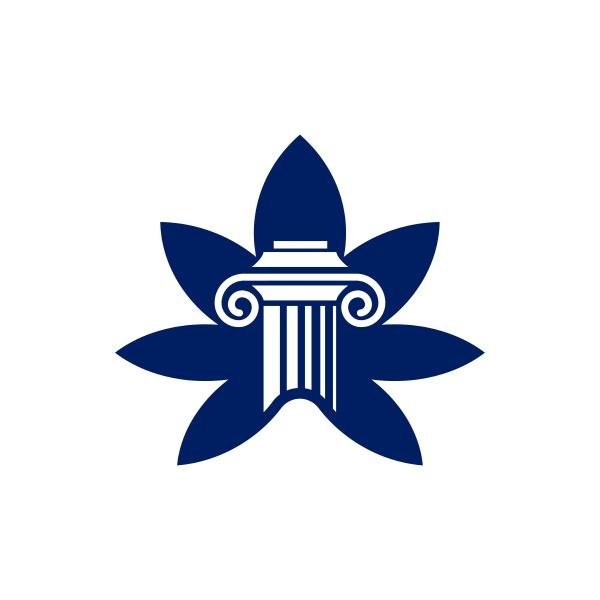 saeule logo design fuer eine anwaltskanzlei