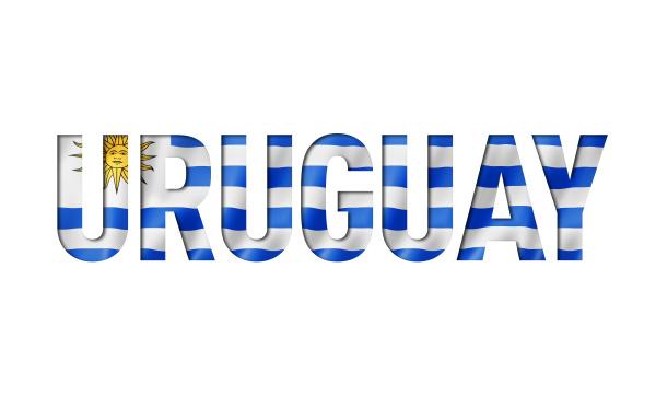 uruguaian flag text schriftart