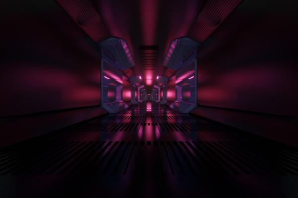 3d rendered illustration visualisierung eines science