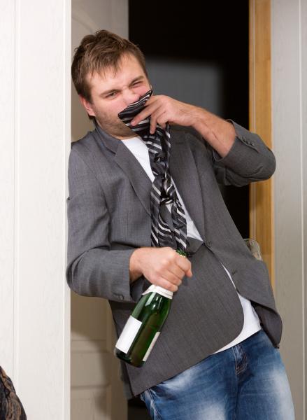 lustiger betrunkener kerl