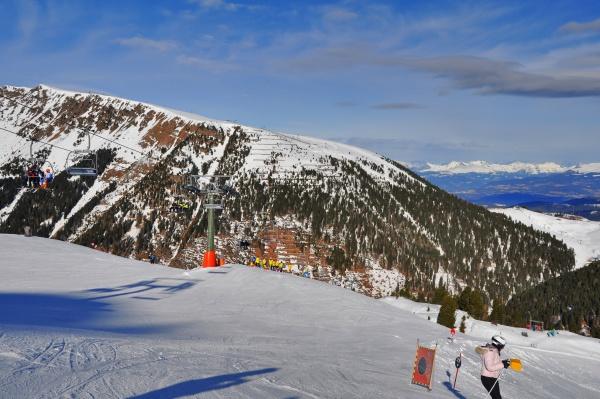 skifahren, in, südtirol - 28117245
