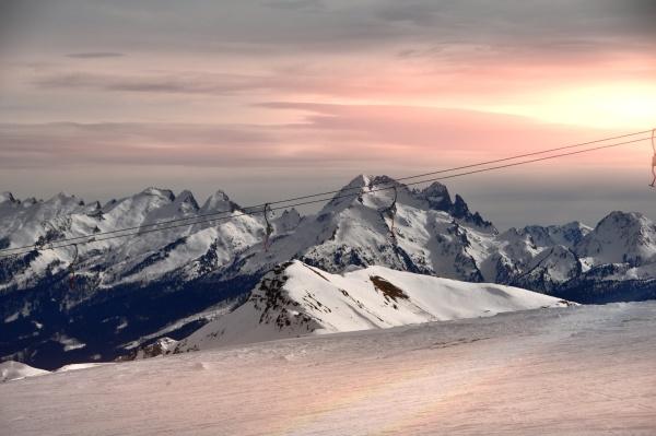 skifahren, in, südtirol - 28117263