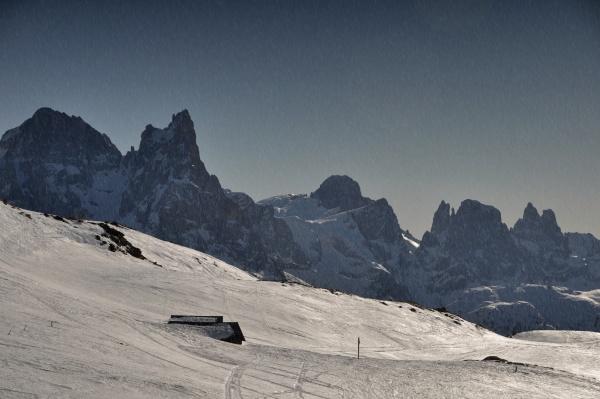 skifahren, in, südtirol - 28131827