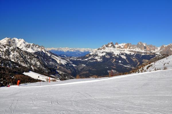 skifahren, in, südtirol - 28131842