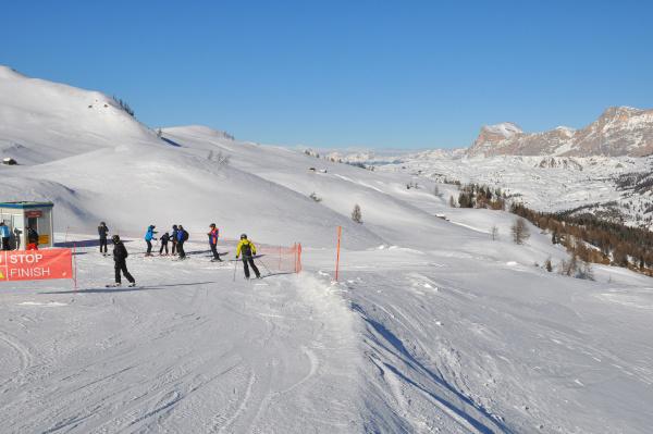 skifahren, in, südtirol - 28140835