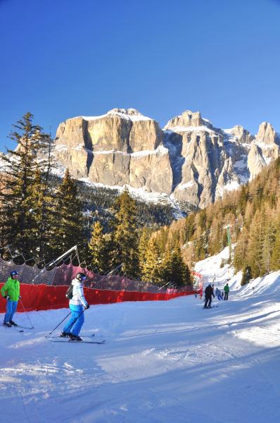 skifahren, in, südtirol - 28140841