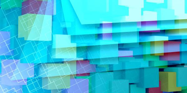abstrakte futuristische technologie