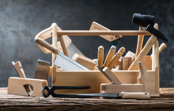 werkzeug werkzeugkasten diy toolkit tisch tischler