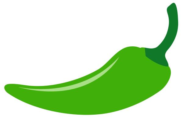 chilli, pepper, spice, green, ingredient, illustration - 28191059