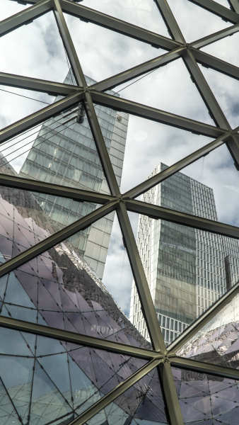 architektur, im, einkaufszentrum, myzeil - 28198444