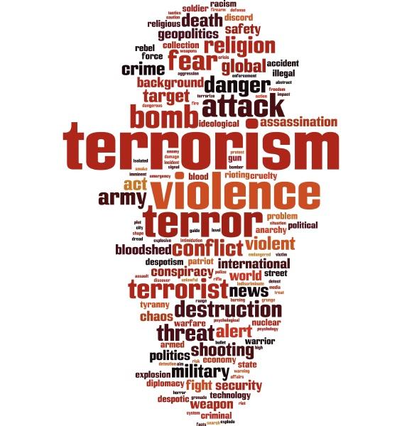 terrorismus wortwolke