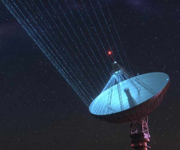 riesensatellitendishe, für, signal, von, galaxy - 28296912