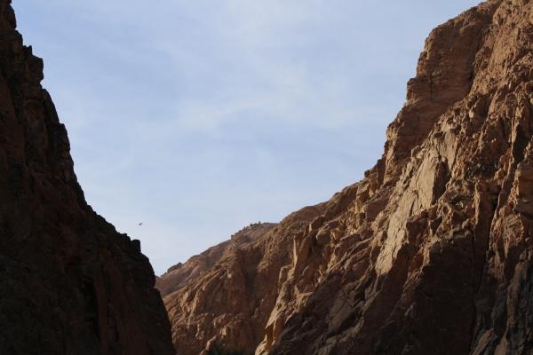 schoene schlucht in AEgypten