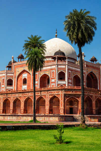 humayuns grab delhi indien