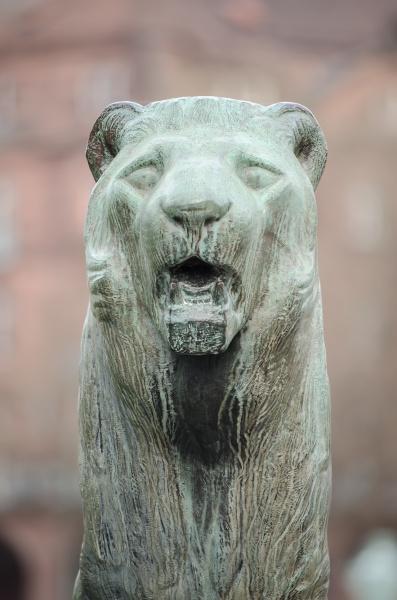 mannheim deutschland stadtskulpturen des wasserturms am