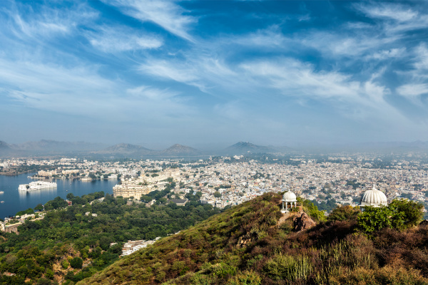 aerial, view, of, , udaipur, - 28469163