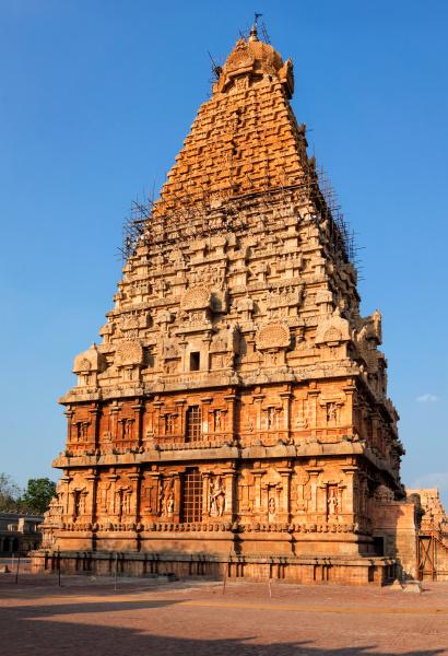 brihadishwarar, temple, tower, (vimana)., thanjavur, , tamil - 28472473