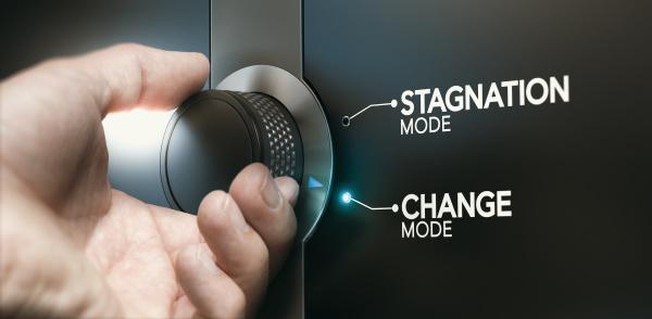 stagnation ueberwinden karriere wechseln um sich