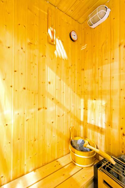 sauna interieur