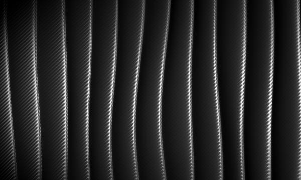 abstrakter wellenhintergrund im kohlefasermuster