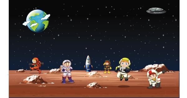 astronaut im all spielen