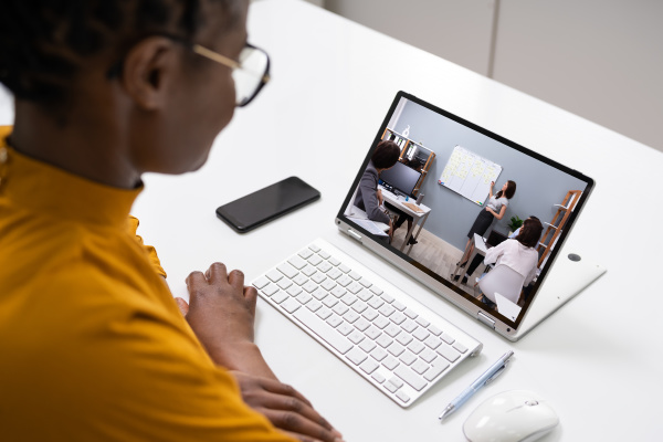 online virtual video conference training