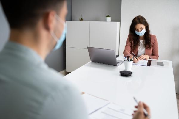 job interview business meeting