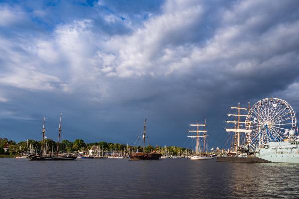 windjammer auf der hanse sail in