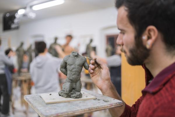 studentische skulpturenbildung