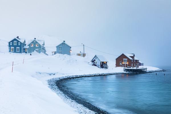 norwegen kongsfjord dorf in norwegen