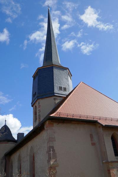 gotische stadtkirche in schlitz hessen