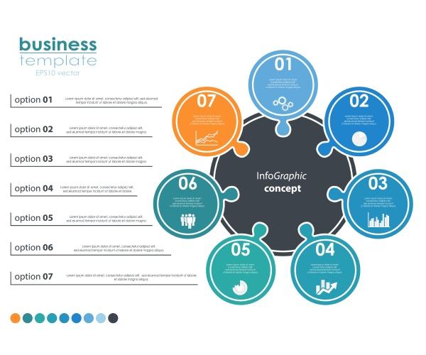 eps 10 vektordatei fuer business info
