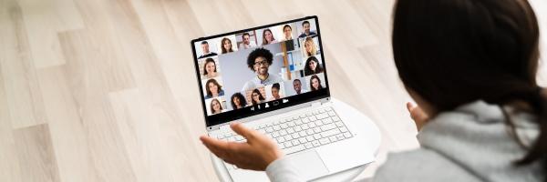 video konferenz work webinar online