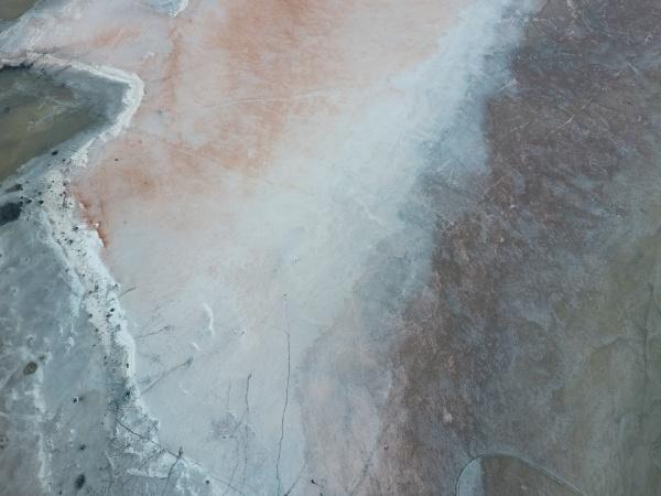 salzsalzsee an der kueste des asowschen