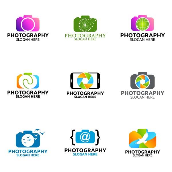 kamera fotografie vektor logo design vorlage
