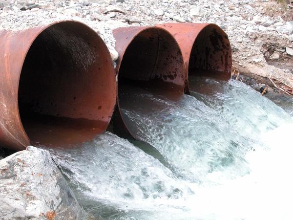 wasserkanal und wasserregulierung