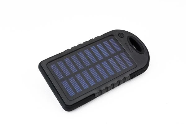 solarenergiegeraet zum aufladen von batterie und