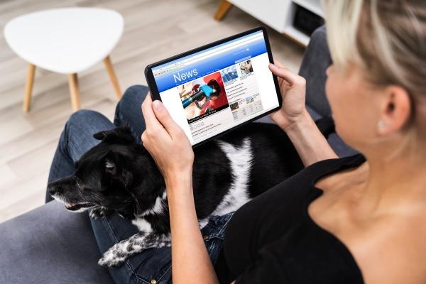 lesen sie online zeitung auf tablet