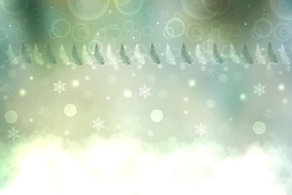 weihnachtskarte vorlage abstrakte festliche natuerliche lichtgruen