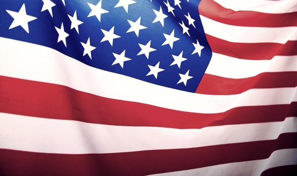 nahaufnahme, der, amerikanischen, flagge - 29009391