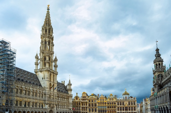 grand place square architektur bruessel
